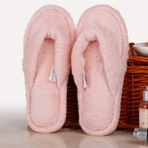 White Spa Slippers for Women