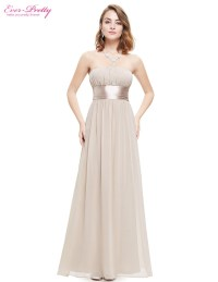 Long Chiffon Bridesmaid Dresses