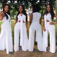 All White One Piece Jumpsuit | Fashion Ql