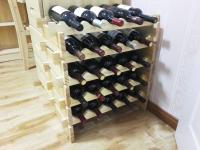 Wooden Wine Rack DIY Assemble Wine Shelf Wood Holders ...