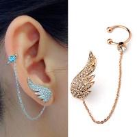 2015 New Style Fashion Ear Cuff Jewelry Inlay Austrian ...
