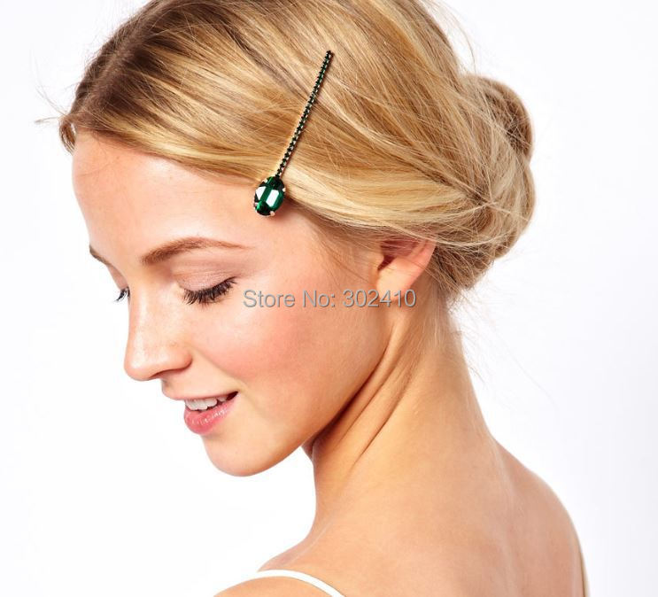 Popular Emerald Green Hair Accessories Buy Cheap Emerald