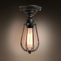 westmenlights vintage Small ceiling light flush mount ...