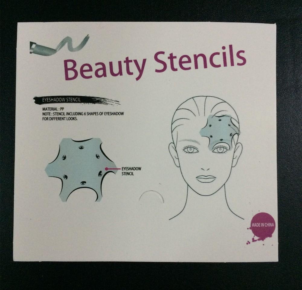 Nº2 packs multifunción Eye stencil 6 en 1 sombra y Delineador de ...