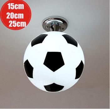 Led plafondlamp globe plafond lampen babykamer basketbal