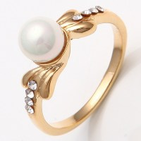 Wholesale Price 14K Yellow Gold Filled Womens Big Wedding