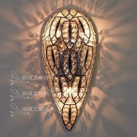 Fashion rustic wall lamps Vintage wrought iron wall lamp ...