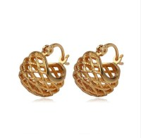 31 popular Gold Earrings For Women Without Stones ...