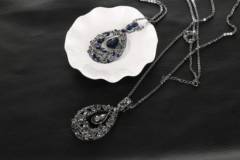 6d1ccc0d07ad Лимон значение новые модные очаровательные свадебные кристалл кулон Цепочки  и ожерелья горный хрусталь кольцо Серьги Для женщин Ювелирные наборы Кольер  ...