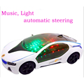 Hot toys Universal wheel car Brinquedos Curise Intelligent steering i8 car Light Emitting Electric cars Music