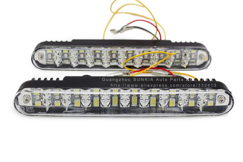 【ᗑ】Sunkia <b>2</b> шт./пара супер белые Мощность 20 светодиодов ...