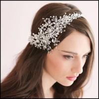 Luxury Rhinestone Bridal Hair Accessories For Wedding ...
