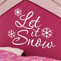 Snowflake Wall Decal Promotion-Shop for Promotional ...