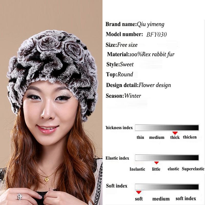 ⑤Moda mujer sombreros hechos a mano Beanie Cap sombrero Femenino ...
