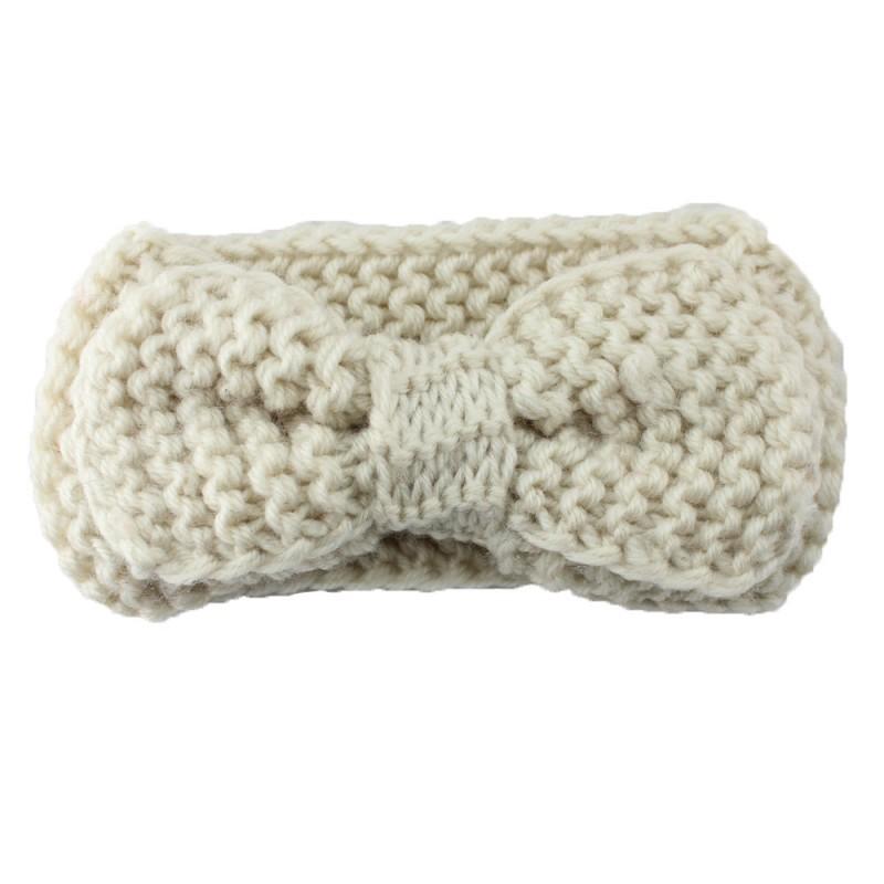 ᓂNiño lindo tejer lana bebé arcos del pelo venda del pelo del ...