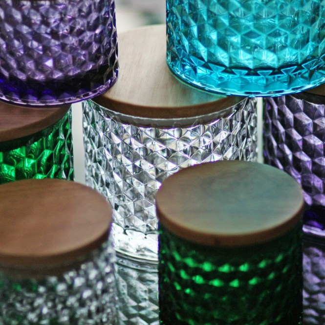 Kerr 4 Oz Quilted Crystal Jelly Jars 12
