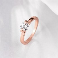 Simple Rose Gold Engagement Rings | www.imgkid.com - The ...