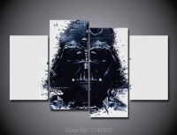 Print darth vader art Star Wars movie poster picture ...