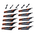 New Arrival 10Pcs Main Rotor Blade 5 Pcs Tail Blade Parts for V911 4CH RC Helicopter