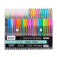 Newdoer 48 Packs Color Gel Ink Pens,The Best Gel Pens Set ...