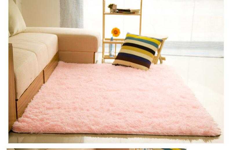Φ_ΦSoft Fluffy Rugs Anti-Skid Shaggy Carpets Kids Room Faux Fur Area ...