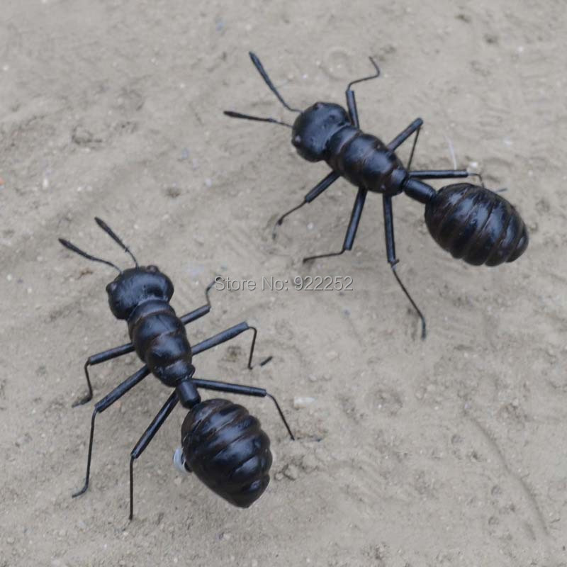 698f830d850375 ∞10 pcs Argile Art Insectes Animaux Figurines De Haute Imitation ...