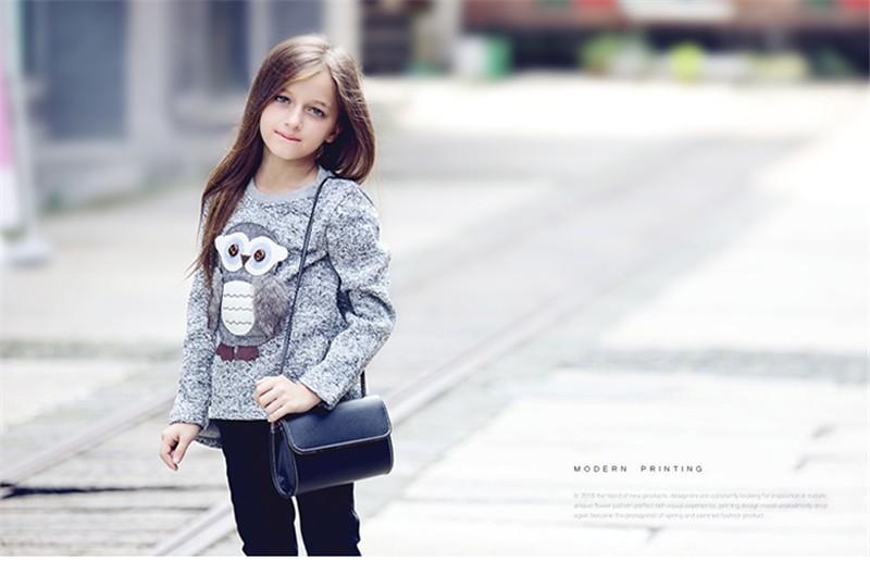 Abgmedr marca moda búho Suéteres invierno adolescentes Niñas ...