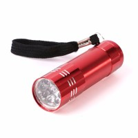 1pc Mini 9 LED uv Gel Curing Lamp Without Battery ...