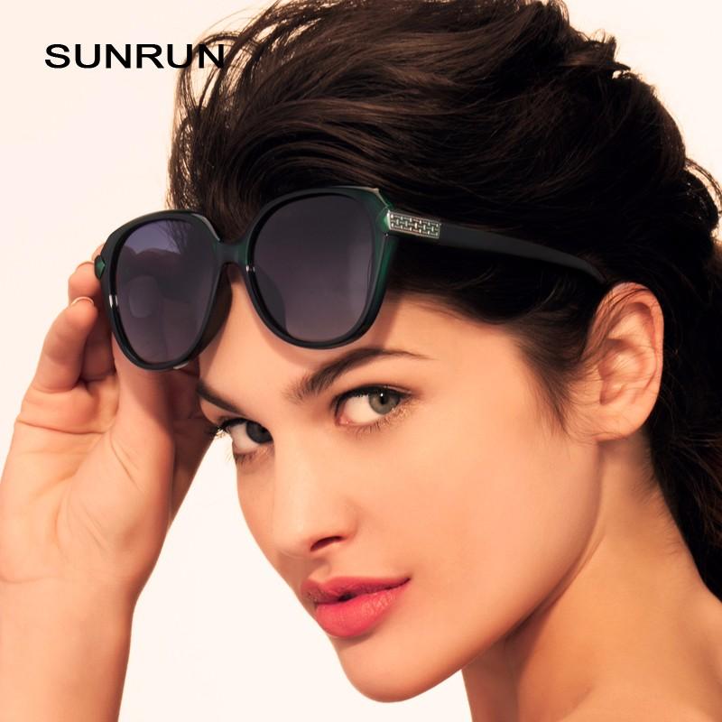 SUNRUN Óculos Polarizados TR90 Mulheres Óculos de Design Da Marca óculos de  Sol Retros UV400 gafas de sol oculos TR6010 1f5a6888ac