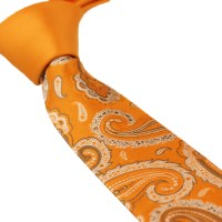 Popular Orange Paisley Ties-Buy Cheap Orange Paisley Ties ...