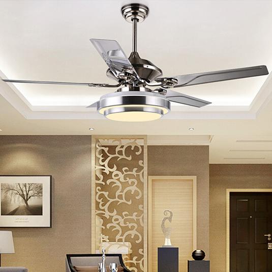 modern fan lamp for living room, led fan ceiling lights