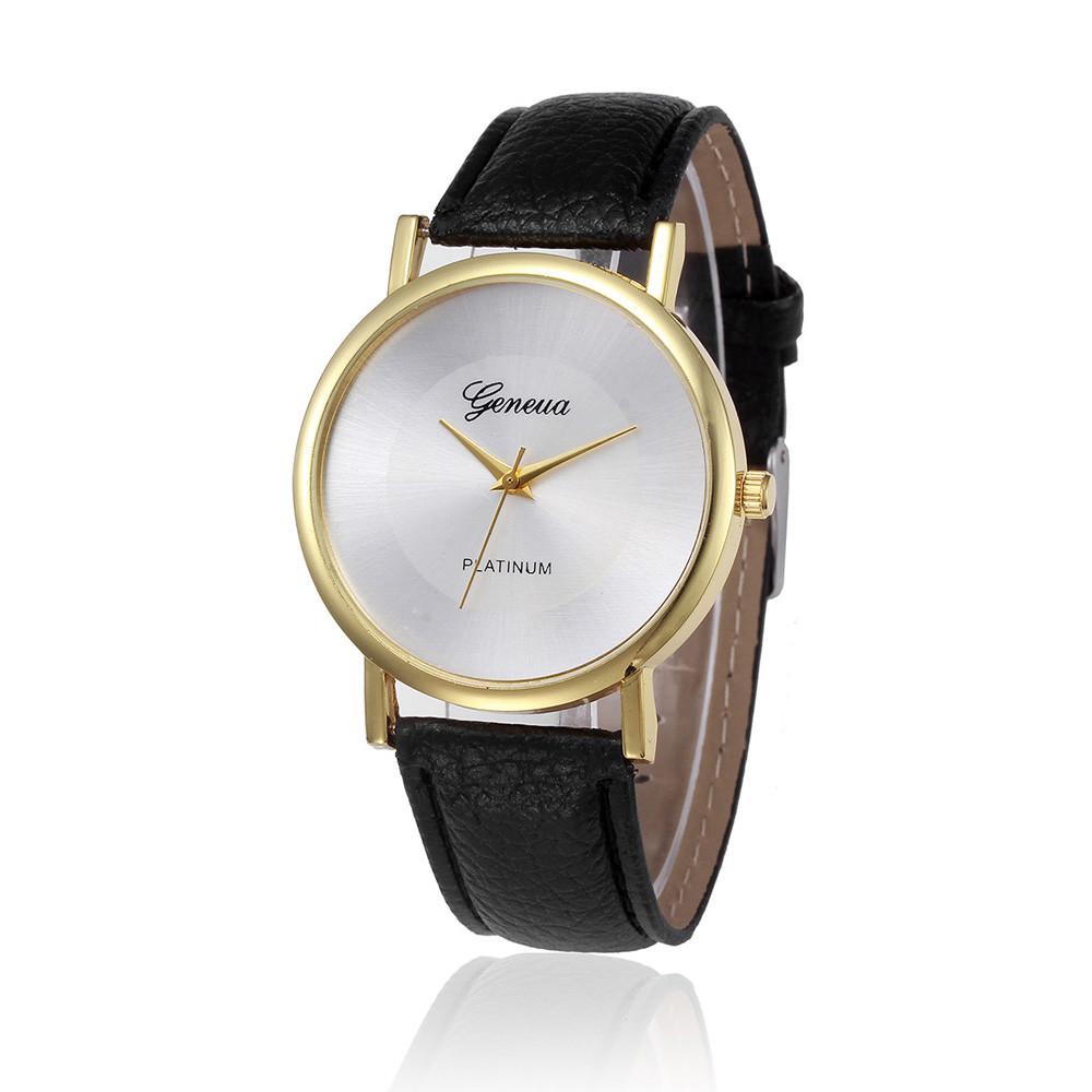 bcdb21a2a056 ୧ʕ ʔ୨2016 Новинка Для мужчин Для женщин Часы Ретро Дизайн кожаный ...