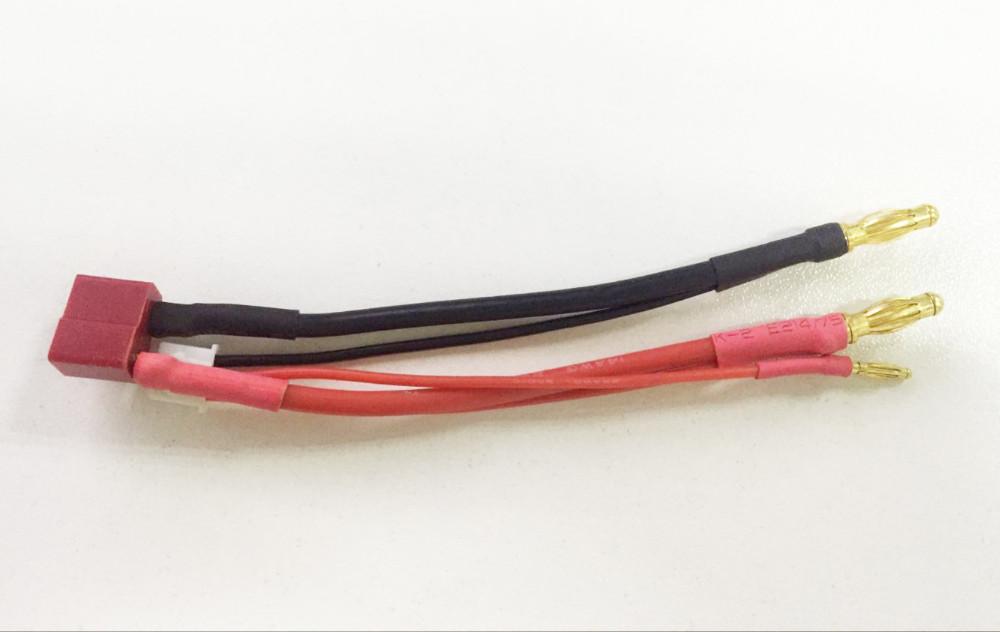 ⊰1 stücke Silikon draht + 2 S lithium-batterie modell stecker 4 MM ...