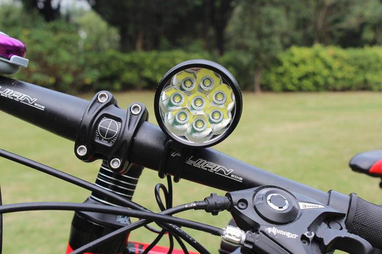 Vélo Bicyclette Cyclisme DEL Quick Fit Silicone Front Light Headlight Combinaisons