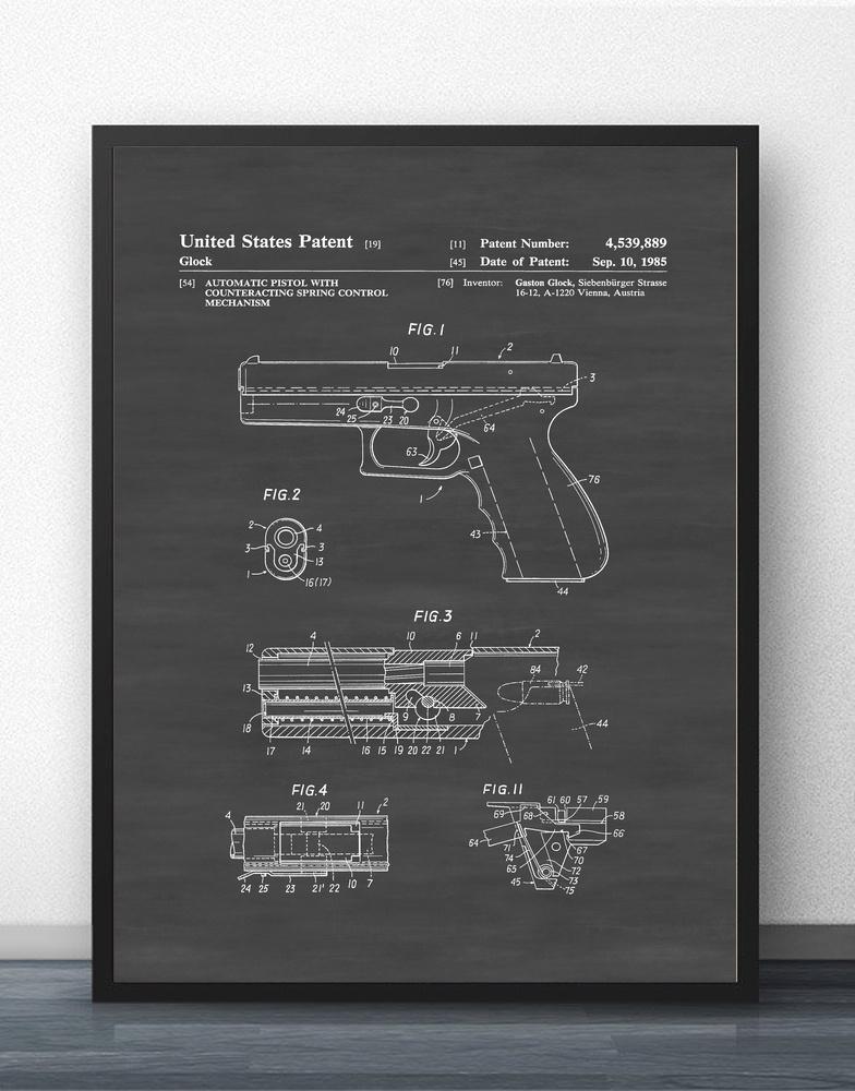 Glock 17 Blueprint