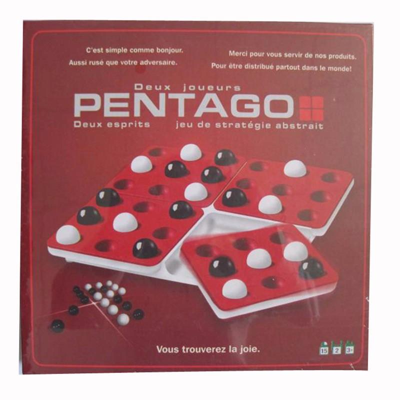 ୧ʕ ʔ୨PENTAGO Brettspiel 2 Spieler Nacht Bar Schach Pentago ... ceff95b2e4