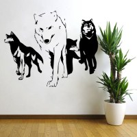 Wolf Wall Decal - best howling wolf decal products on ...