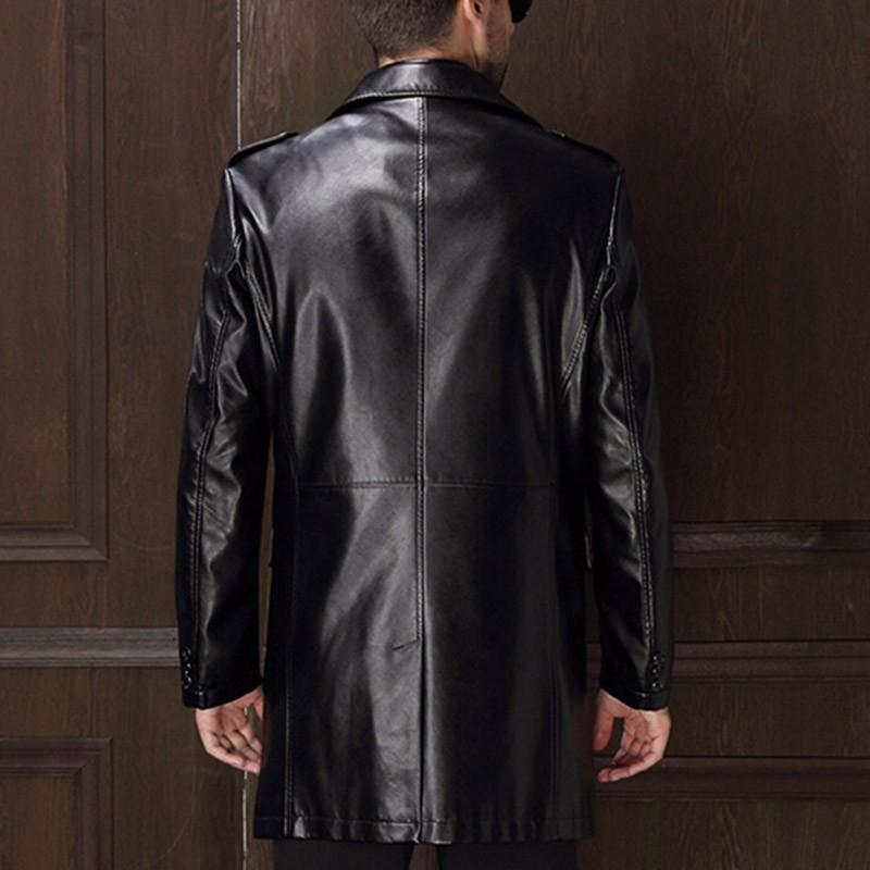 Veste Manteau Véritable Hommes Nouvelle Arrivée De Cuir XTqZn0Ow