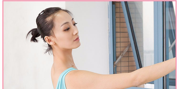 cc400b342278 Adult Mesh Vest Ballet Leotards Microfiber Stretch Women Gymnastics ...