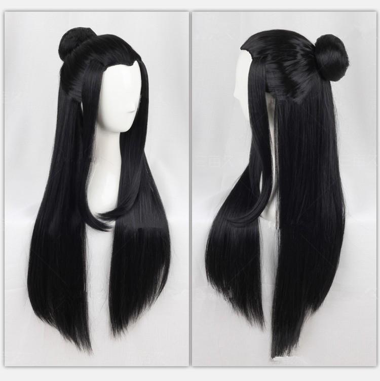 ᓂEstilo chino antiguo pelo antiguo chino largo negro antigua ...