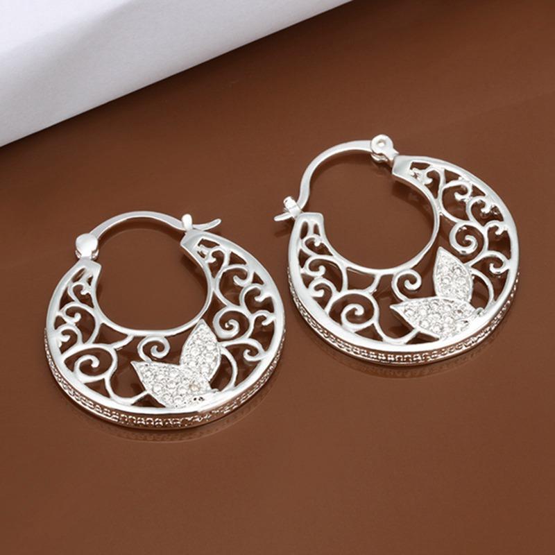 fine 925 sterling silver earrings 925 sterling silver