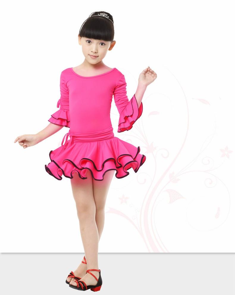 2018 danza del niño chica Latino baile vestidos niños traje de baile ...