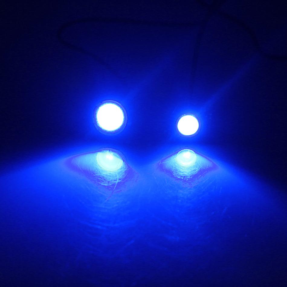 VW Touareg 7L7 501 W5W bleu porte intérieure bulbe led grand angle mise à niveau de lumière