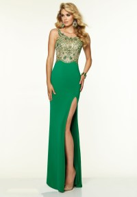 Women 2016 emerald green prom dress sheer tulle beading ...