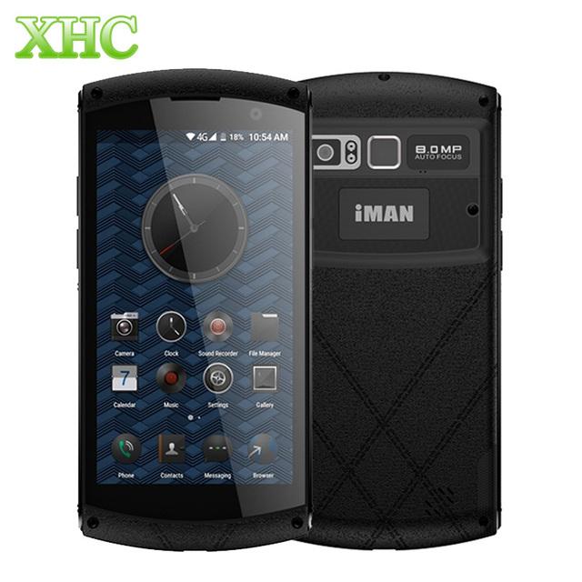 iMAN Victor S IP67 Waterproof Phone 2GB 16GB Fingerprint 4500mAh 4G LTE Smartphone MT6735 Quad Core Dual SIM Metal Mobile Phone