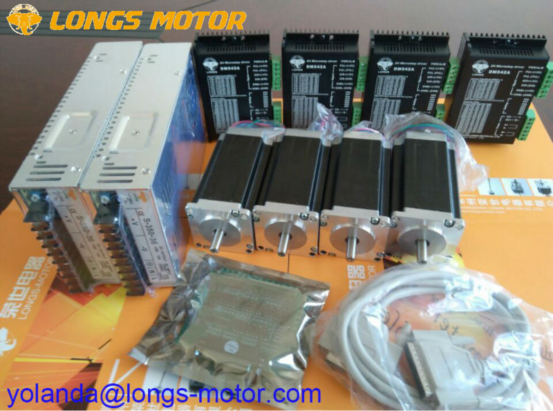 EU Free shipping[3~8days] Stepper Motor 4 Axis Nema 23 23HS9442 2.8N.m  Axis Dm A Wiring Diagram Db on