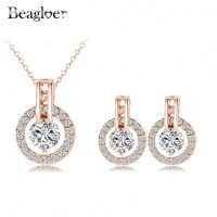 Aliexpress.com : Buy Beagloer Classic Jewelry Set Rose