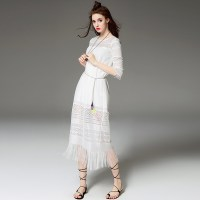 Mid Calf Length Dresses with Sleeves Promotion-Shop for ...