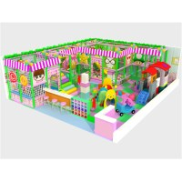 latest new design commercial Round Roof indoor playground ...
