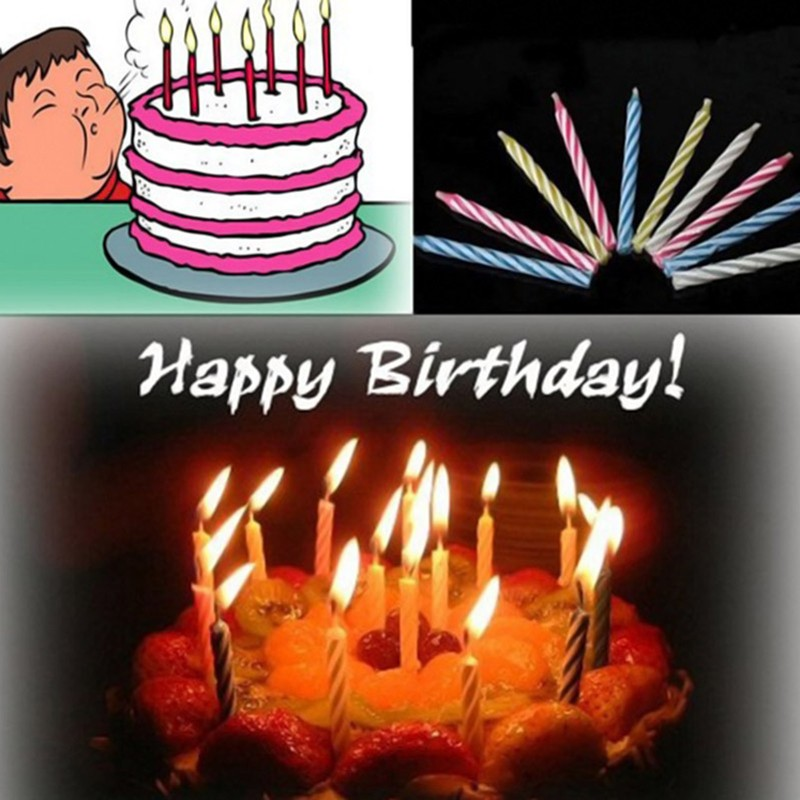 Magic Relighting Candles Funny Tricky Toy Birthday